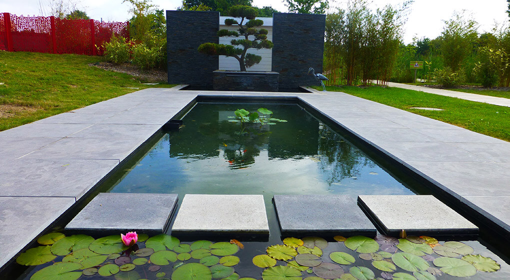 Nos r alisations de jardin et am nagement d 39 ext rieur en for Jardin design exterieur