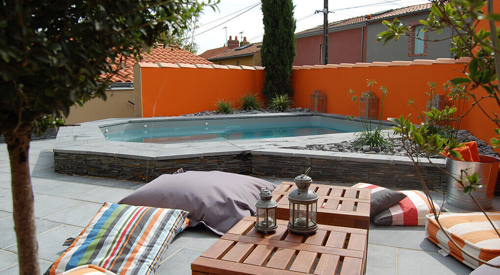 Nos r alisations de jardin et am nagement d 39 ext rieur en vend e Atmosphere agreable piscine jardin