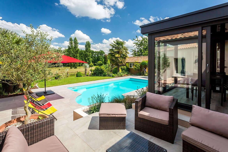 Amenagement Exterieur Terrasse Maison réalisations de jardin et aménagement d'extérieur en vendée